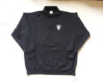 Vintage Rare 1993 Metallica Tour Polo Sweater Vtg 90s 1990s Thrash Metal Crewneck Megadeth Anthrax Tour Testament Suicidal Sweatshirt