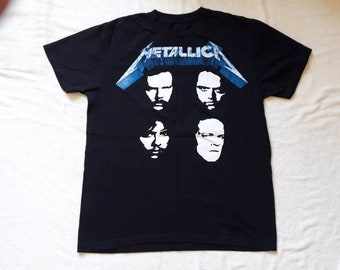Vintage 1991 Metallica Tour Tshirt Vtg 90s 1990s Heavy Thrash Speed Metal Concert T Shirt Megadeth Slayer Anthrax Sepultura Tee Biohazard