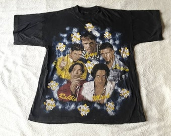Vintage 1994 Take That T Shirt Vtg 90s 1990s Pop Boy Band Tee Tshirt East 17 Westlife Boyzone NKOTB Back Street Boys Prince Madonna Bros