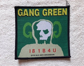 Vintage 1990 Gang Green Patch . Vtg 90s 1990s NYHC Thrash Crossover Crumbsuckers Cryptic Slaughter
