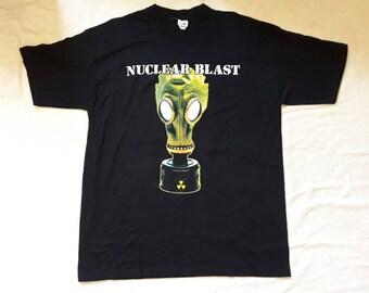 Vintage 1994 Nuclear Blast T Shirt Vtg 90s 1990s Heavy Thrash Death Metal Tee Tshirt Grindcore Kreator Carcass Death