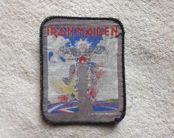 Vintage 90s Iron Maiden Patch Vtg 1990s Heavy Metal Motorhead Saxon Judas Priest NWOBHM Def Leppard