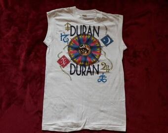 Vintage 1984 Duran Duran Muscle Tour T Shirt Vtg 80s 1980s Rock Pop New Wave Synth Pop Concert T Shirt Depeche Mode The Cure A Ha