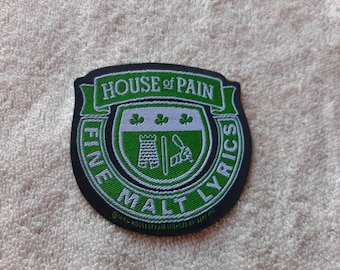 Vintage 1994 House of Pain Patch Vtg 90s 1990s Rap Run DMC NWA De la Soul Beastie Boys Cypress Hill Ice T Onyx Public Enemy