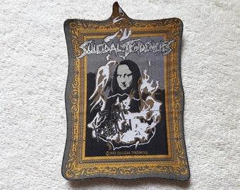 Vintage 1993 Suicidal Tendencies Patch . Vtg 90s 1990s Thrash Speed Metal Megadeth Metallica