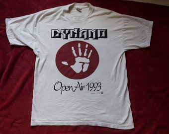 Vintage 1993 Dynamo Open Air Festival T Shirt Vtg 90s 1990s Thrash Metal Concert Tour Tee Anthrax Suicidal Gorefest Fudge Tunnel Mindfunk