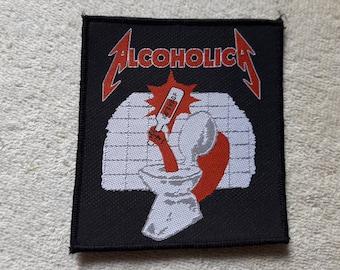Vintage 1989 Metallica Patch . Vtg 80s 1980s Thrash Metal Woven Slayer Megadeth
