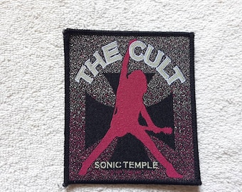 Vintage Rare 1989 The Cult Patch . Vtg 80s 1980s Heavy Metal Hard Rock Sisters The Mission