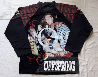 Vintage 1994 The Offspring Sweater . Vtg 90s 1990s Punk Rock Crewneck Rancid Green Day