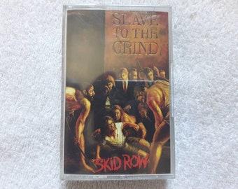 Vintage 1991 Skid Row Cassette Vtg 90s 1990s Heavy Metal Tape K7 Motley Crue Poison Guns N Roses Aerosmith Whitesnake