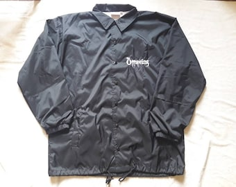 Vintage 1995 The Offspring Jacket . Vtg 90s 1990s Punk Rock Windbreaker Green Day Bad Religion