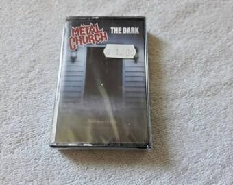 Vintage 1986 Metal Church Cassette Vtg 80s 1980s Thrash Metal Tape Overkill Helloween Coroner Testament Tankard Megadeth Slayer