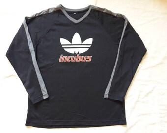 Vintage 1997 Incubus Long Sleeve Tee Vtg 1990s Nu Rap Metal Funk T Shirt Korn Slipknot Limp Bizkit
