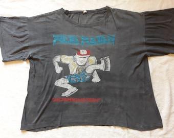 Vintage Thrashed 1988 Acid Reign Tee . Vtg 80s 1980s Thrash Metsl Tshirt . Anacrusis Lawnmower Deth