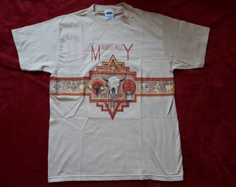 Vintage 1994 Monument Valley Tshirt Vtg 90s 1990s Navajo Tribal Tee Colorado River Indian Tultex L Nation