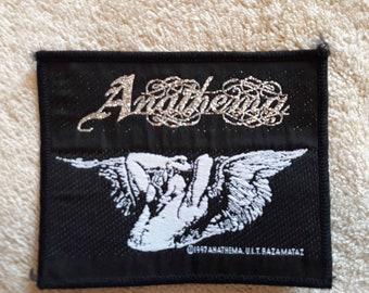 Vintage 1997 Anathema Patch . Vtg 90s 1990s Death Doom Metal Cannibal Corpse Carcass Dismember Napalm Death Burzum
