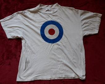 Vintage 1994 MOD Tee Vtg 90s 1990s Teddy Boy Northern Soul Tshirt Vespa Lambretta David Bowie The Who Jam Quadrophenia