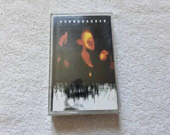 Vintage 1994 Soundgarden  Cassette Tape Vtg 90s 1990s Grunge Kurt Cobain Mudhoney Sub Pop Hole Breeders Nirvana Dinosaur Jr Sonic Youth K7