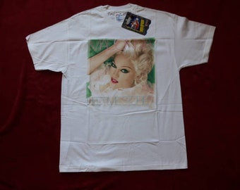 Vintage 1994 Madonna T Shirt Vtg 1990s 90s Pop Soul Band Tee Tshirt Prince Michael Jackson Kylie Whitney Houston David Bowie Bob Dylan