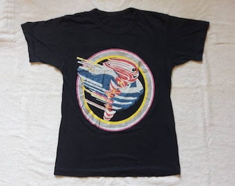 Vintage Rare 1986 Judas Priest Concert Tee . Vtg 80s 1980s Heavy Metal Tour T Shirt . Iron Maiden Saxon Motorhead Def Leppard DIO