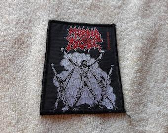 Vintage 1991 Morbid Angel Patch Vtg 90s 1990s Death Metal Paradise Lost Kreator Cannibal Corpse Darkthrone Napalm Death Entombed Deicide