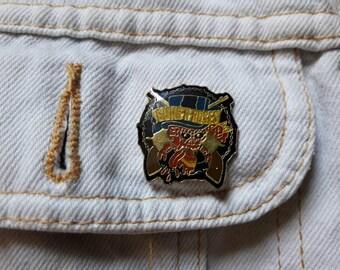 Vintage Rare 1991 Guns N Roses Pin Button. Vtg 90s 1990s Heavy Metal Axl Slash Metallica