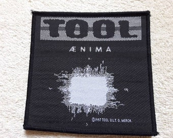 Vintage 1997 Tool Patch . Vtg 90s 1990s Heavy Alternative Industrial Metal Ministry Nine Inch Nails