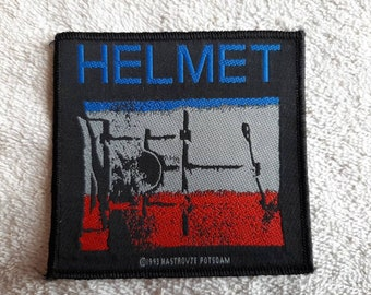 Vintage 1993 Helmet Patch 90s 1990s Heavy Grunge Chili Peppers Pearl Jam Tad Nirvana Dinosaur JR Sonic Youth Melvins
