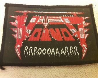 Vintage 1992 Voivod Woven Patch. Vtg 1990s 90s Thrash Metal