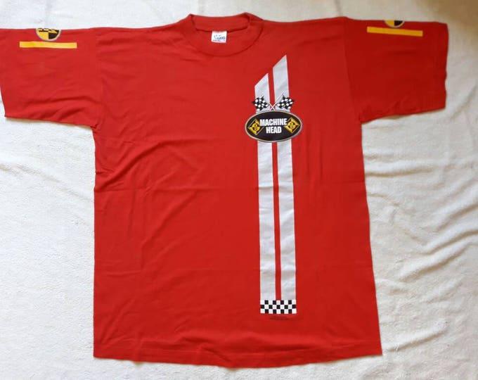 Featured listing image: Vintage 1997 Machine Head Tshirt. 90s 1990s Thrash Metal Tee T Shirt Vtg Fear Factory Pantera