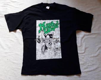 Vintage Rare 1995 Murphys Law Tee Vtg 90s 1990s Hardcore Punk T Shirt NYHC Agnostic Front