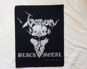 Vintage 1996 Venom Backpatch . NOS