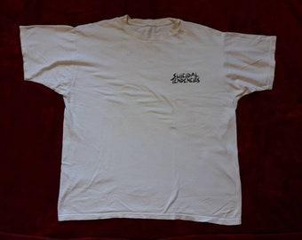 Vintage Rare 1989 Suicidal Tendencies Tee . Vtg 80s 1980s Thrash Speed Metal T Shirt Megadeth Anthrax Slayer Cro Mags Biohazard Testament