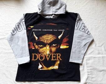 Vintage 1997 Dover Hoodie . Vtg 90s 1990s Heavy Punk Metal Grunge Electropop Pignoise Haze