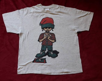 Vintage 1993 Mr Splffy T Shirt Vtg 90s 1990s Weed Stoner Grass Hash Snoop Bob Marley Reggae Hippy Tee Tshirt Hanes