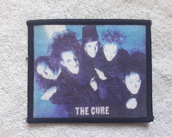 Vintage 90s The Cure Patch Vtg 90s 1990s Alternative Indie Rock Metal The Smiths Morrisey  Robert Smith Gothic Goth Love Cats