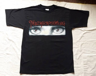 Vintage Rare 1996 Vamperotica  Cradle Of Filth T Shirt . Vtg 90s 1990s Death Metal Tee Dani Cannibal Corpse Morbid Angel Emperor