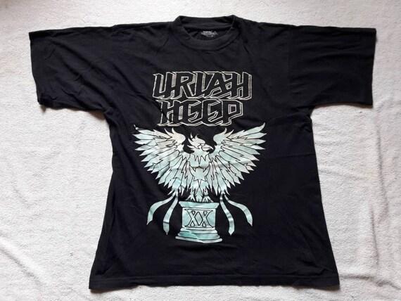 Heep Heavy Vintage ShirtVtg 1992 MetalEtsy 90s 1990s Uriah T cj3Aq4LS5R