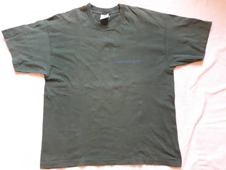 f7344d5bc720b Vintage Rare 1994 Jamiroquai Tour Tshirt . Vtg 90s 1990s Funk Acid Jazz  Concert Tee .