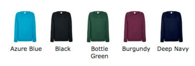 MERMAID Design LadiesWomen/'s SWEATSHIRT lots of colour /& print choices