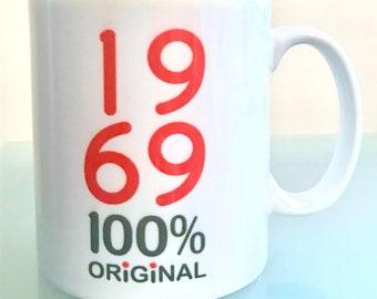 Year of Birth 100 Per Cent Original Mug - ANY year printed!