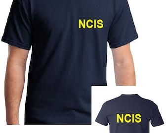 FBI T Shirt Police Novelty Adult Tshirt Dress Up US Police Fancy Dress Party