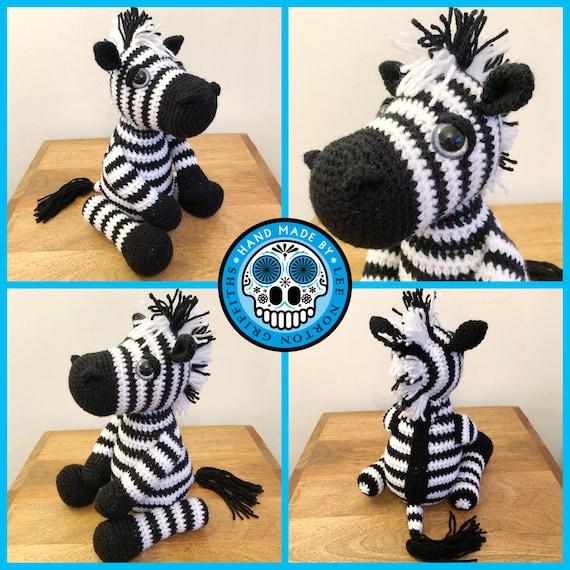 Crochet Zebra PatternFriendly Zebra Crochet Zebra Crochet | Etsy | 570x570