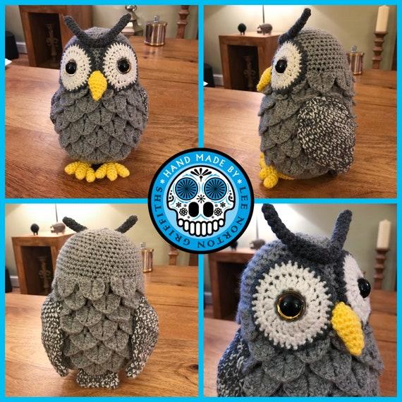 Free crochet owl amigurumi pattern - Amigurumi Today | 570x570