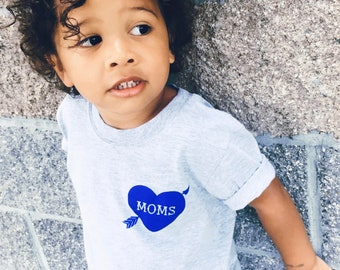 Moms Tattoo Heart kids T-shirt, Unisex, Kids Clothing, Baby Clothing, Two Moms, Two Mamas, Same Sex Parents, LGBTQ Family