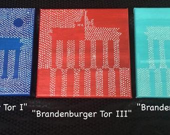 "Original Painting ""Brandenburger Tor xx"" Berlin"