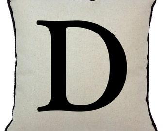 Alphabet Pillow D