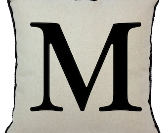 Alphabet Pillow M