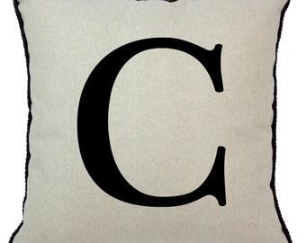Alphabet Pillow C