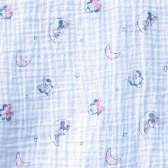 Personalisierte Minnie Mouse Musselin Swaddle   Etsy